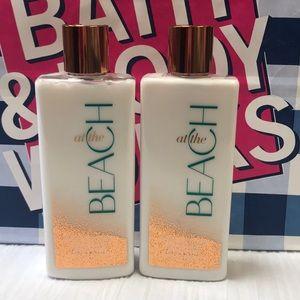 Bath & Body Works AT THE BEACH Body Lotion